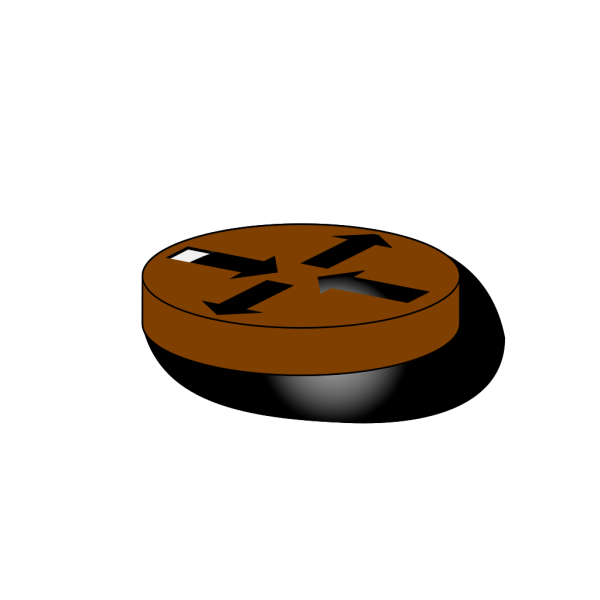 Blue Router Symbol PNG Clip art