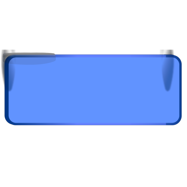 Cancel Button Blue PNG images