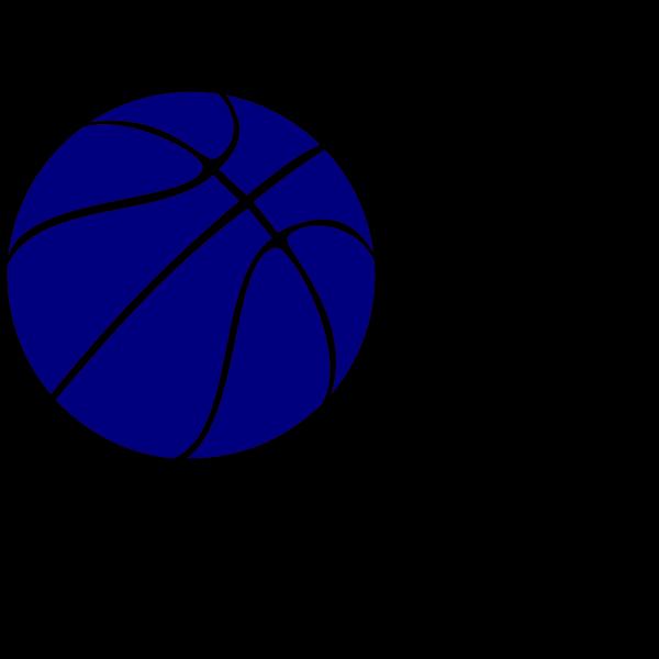 Blue Basketball PNG Clip art