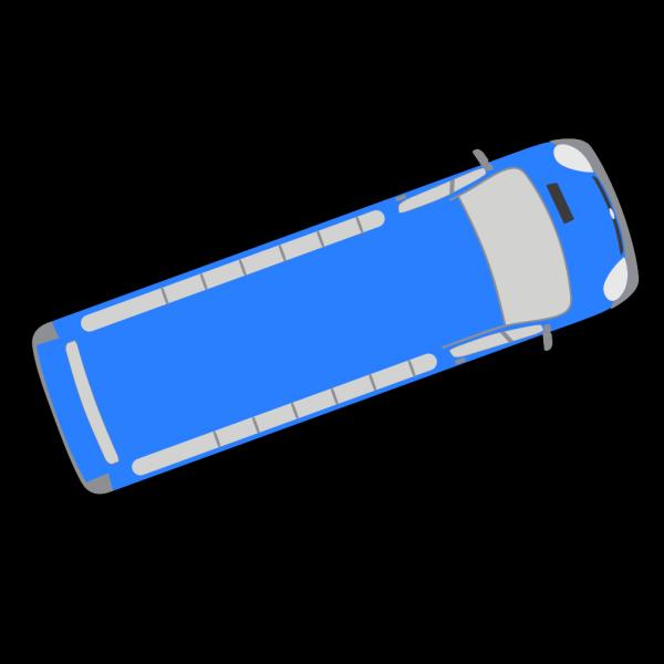 Blue Bus - 20 PNG Clip art
