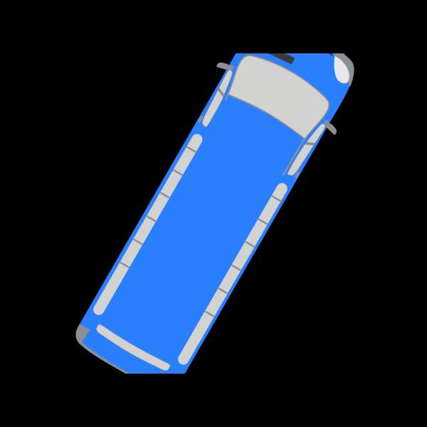Blue Bus - 60 PNG Clip art