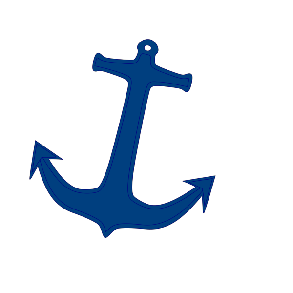Navy Anchor PNG clipart