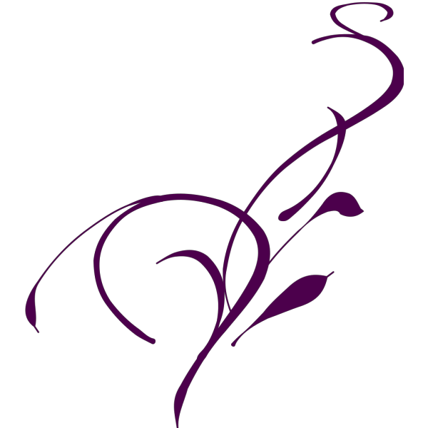 Circular Outline Vines PNG images