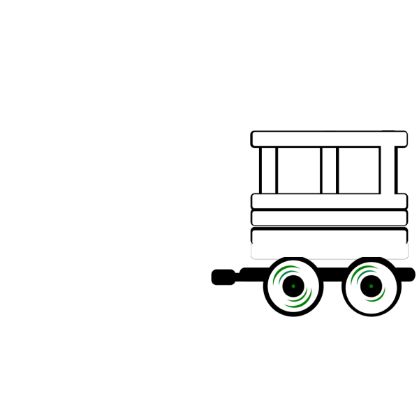 Loco Train Carriage PNG Clip art