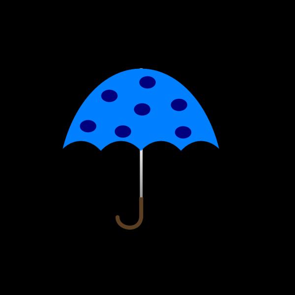 Polka Dot Umbrella PNG Clip art