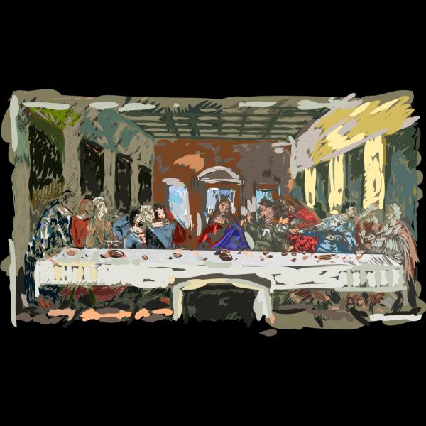 Last Supper PNG Clip art