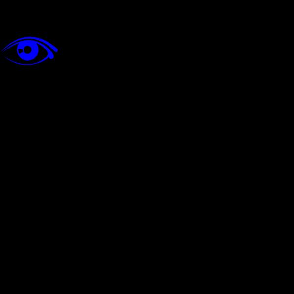 Eye Blue PNG Clip art