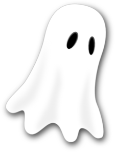 Blue Ghost PNG clipart