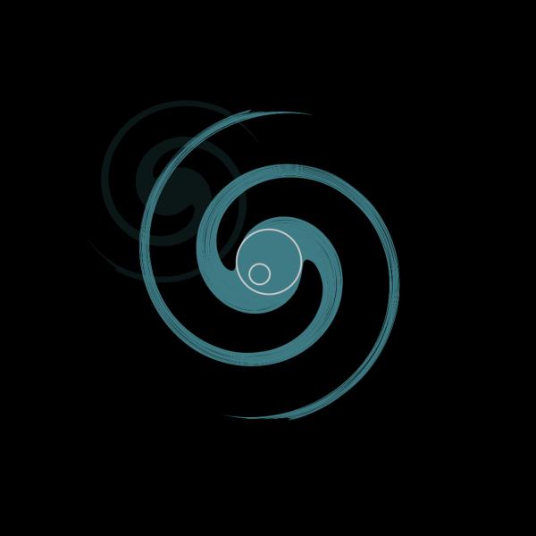 Alien Flower Blue PNG Clip art