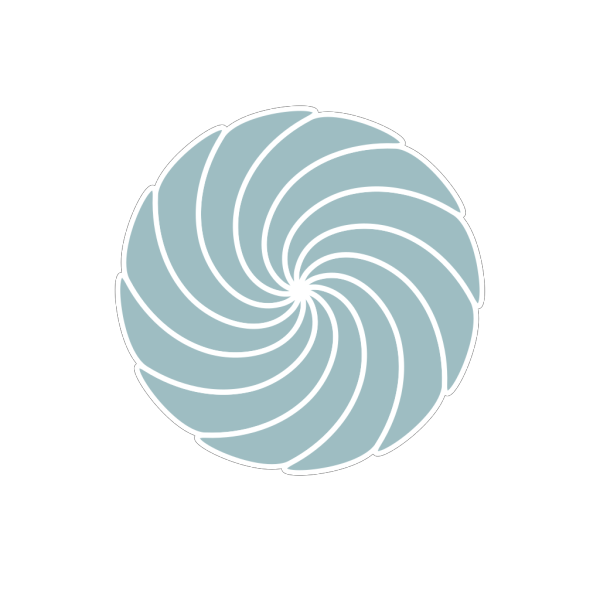 Blue Grey Spiral PNG Clip art