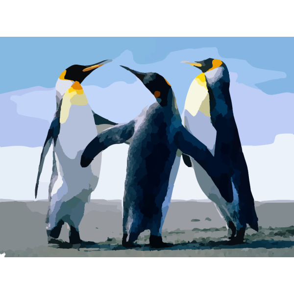Penguins PNG images