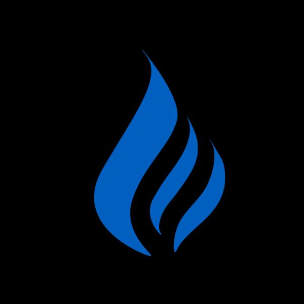 Large Flame Logo PNG Clip art
