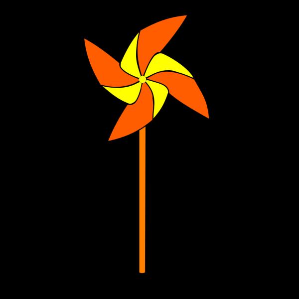 Blue Pinwheel PNG Clip art