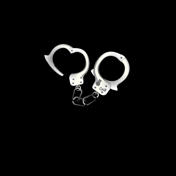 Blue Handcuffs New PNG Clip art