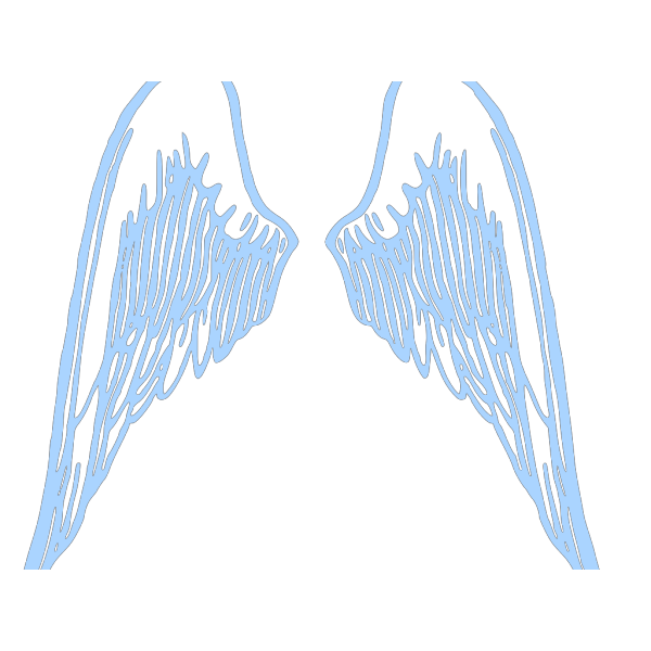Blue Boyie Wings PNG images