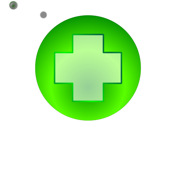 Add Button Blue PNG Clip art