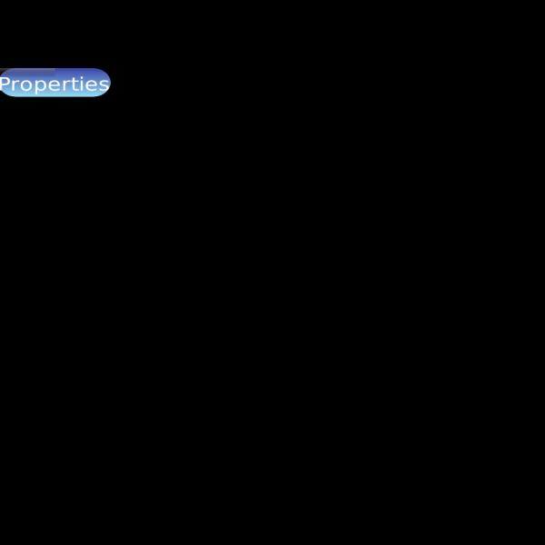 Properties Button Blue PNG Clip art