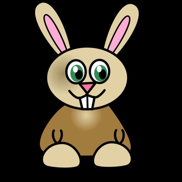 Aqua Bunny PNG Clip art