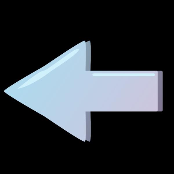 Blue Left Button PNG Clip art