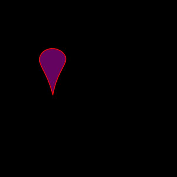 Pink Push Pin PNG Clip art