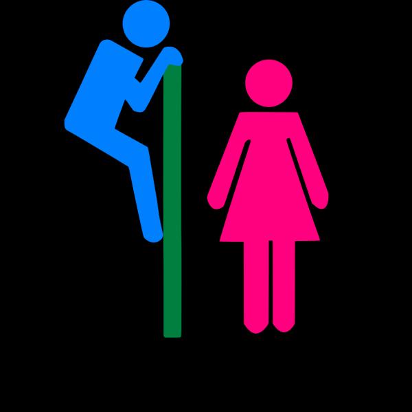 Restroom Signs PNG Clip art