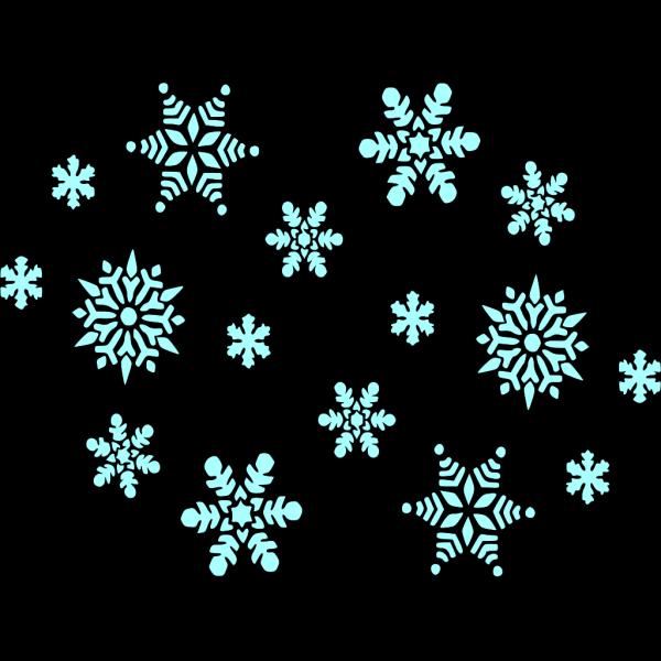 Snow Blue PNG Clip art