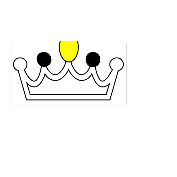Blue Tiled Crown PNG Clip art
