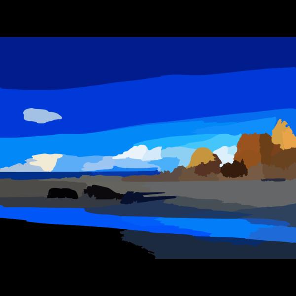 Ws Deep Blue Sky X PNG Clip art
