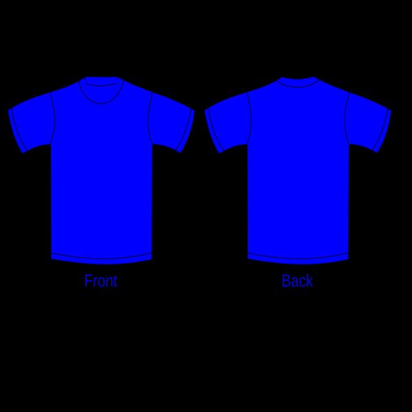 Plain Blue Shirt PNG Clip art