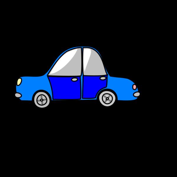 Car Transport Blue PNG Clip art