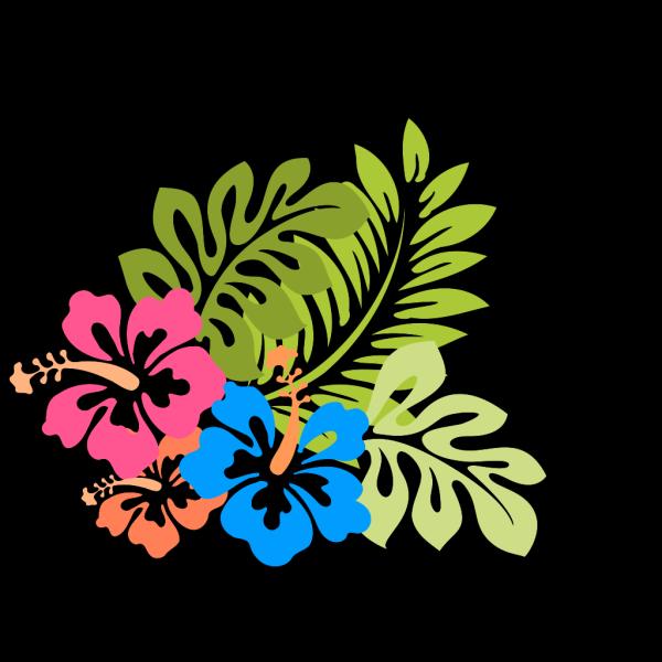 Blue Hibiscus PNG Clip art