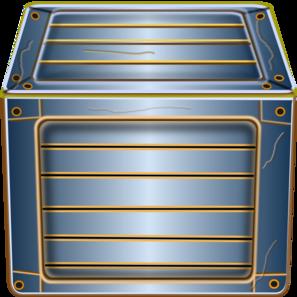 Blue Box PNG Clip art