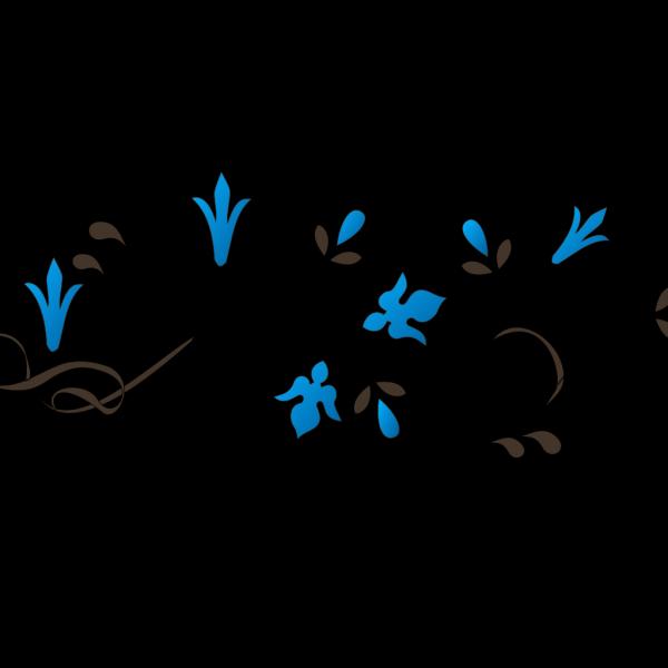 Flower Corner PNG Clip art