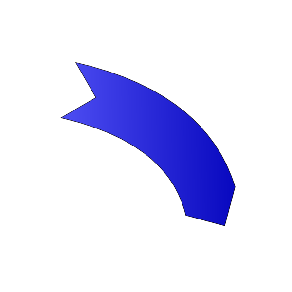 Dark Blue Arrow PNG Clip art