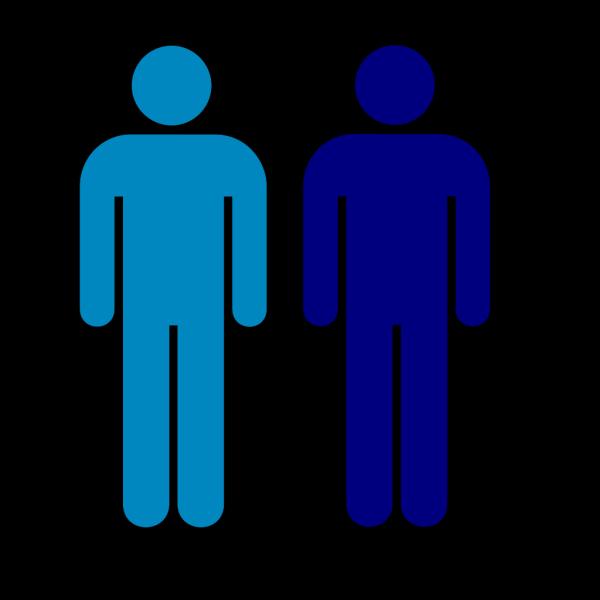 Blue Person Symbol PNG Clip art