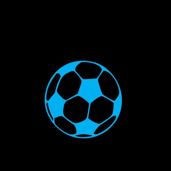 Blue Football PNG Clip art
