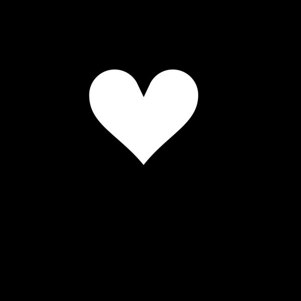 Blue Line Heart Outline PNG Clip art
