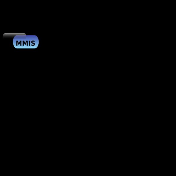 Mmis Portal Button Blue PNG Clip art