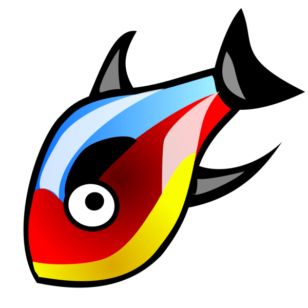 Colorful Fish PNG Clip art