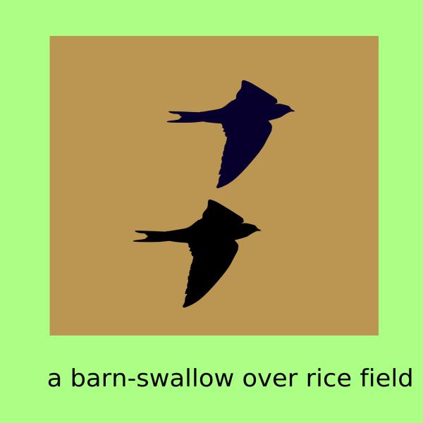 Blue Swallow PNG Clip art