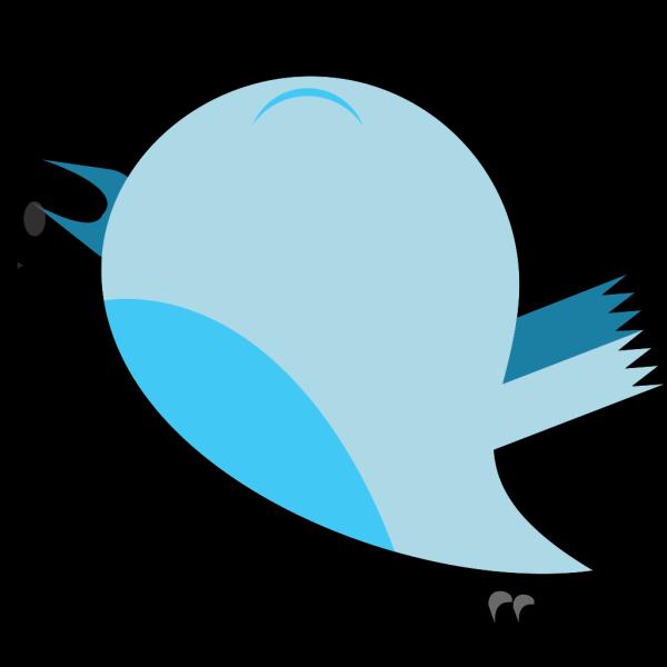 Blue Bird 2 PNG Clip art