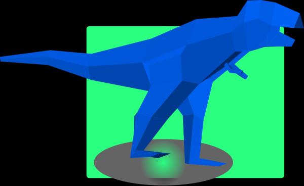 Blue Dinosaur PNG Clip art