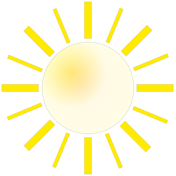 City With Sunshine PNG icon