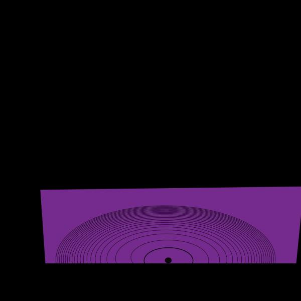 Stereo Violette Blue PNG Clip art