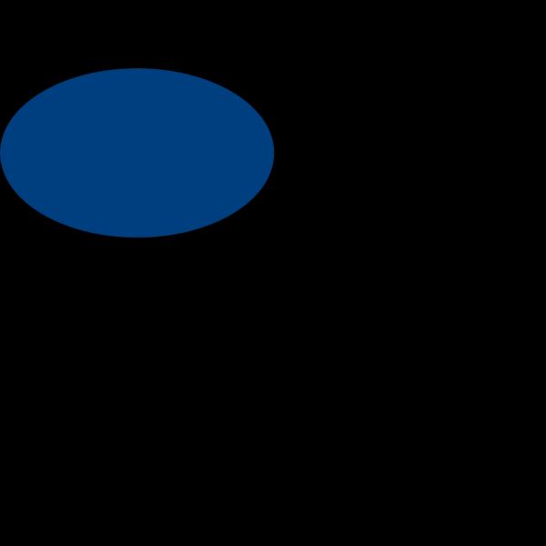 Blue Ellipse PNG Clip art