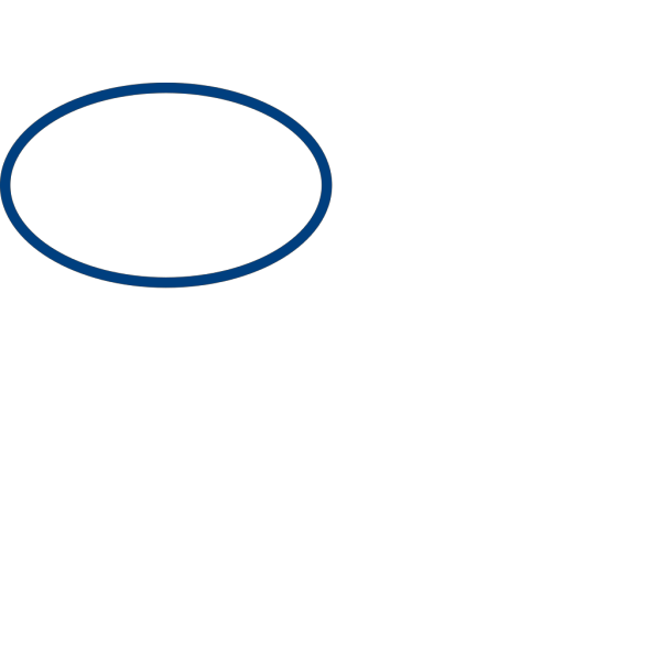 Blue Elliptical Form PNG Clip art