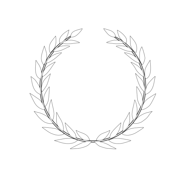 Olive Wreath PNG images