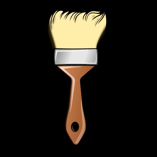 Paint Brusher Blue PNG Clip art