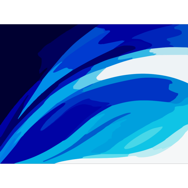 Wave Blues Vector PNG Clip art