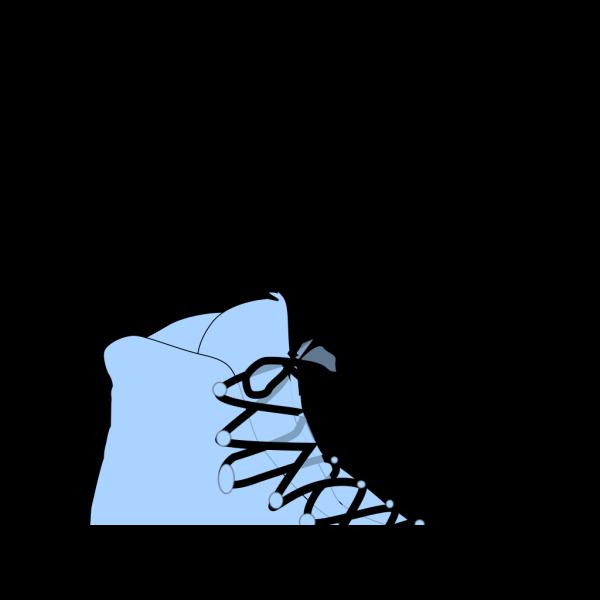Light Blue Boot PNG Clip art